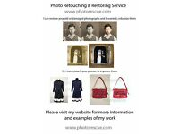 Freelance professional Photo restorer and retoucher, looking for photo editing work
