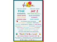 2x Yellow Camping WEEKEND V FEST TICKETS CHELMSFORD