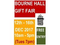 THE ORIGINAL 5 DAY GIFT MARKET BOURNE HALL EWELL SURREY