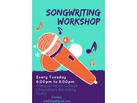Songwriting Workshop at Glasgow Kelvin College (TUES 6 PM - 8PM)