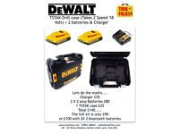 Dewalt TSTAK / Charger & 2 Batteries.