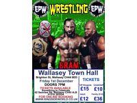 Wrestling tickets