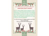 We are looking for crafters and hobbyists for our Christmas Craft Market