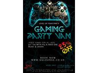 Gaming Party Van