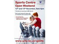 QMU Sports Centre Open Day