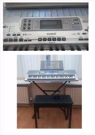 Casio Music Site Keyboard CTK 691