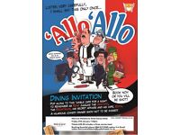 'Allo 'Allo Comedy Dining at Mercure Maidstone Great Danes Hotel