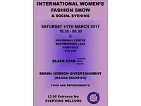 INTERNATIONAL WOMEN'S FASHION SHOW & SOCIAL EVENING