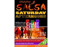 Saturday Salsa Classes in Willenhall