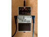 Boss CE5 chorus guitar pedal