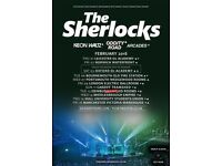 The Sherlocks - Manchester - ***SOLD OUT*** gig - Friday 16/2/18 2 Tickets £40 each