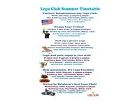 Lego Club is Back at The Railway Inn (Portslade) + Heene Community (Worthing)