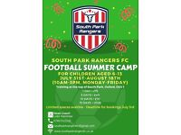SUMMERTIME IS FUN TIME FOR KIDS! SUMMER HOLIDAY FOOTBALL CAMP