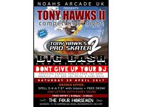 Tony Hawk's Pro Skater 2 Night - The Game + The Music + The Nostalgia = One Hell of a Party!