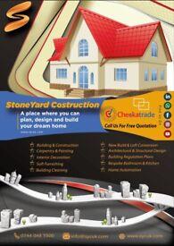 New Build, Loft Conversion, Extension, Renovation, Carpentry, Kitchen, CCTV Installation