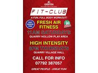 Griffin Fit Clubs - Outdoor and Indoor group exercise for fitness, strength and fat loss!