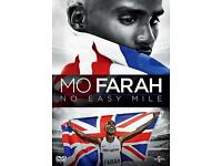 Mo Farah no easy mile dvd
