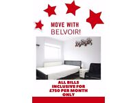 2X *Furnished *Virgin Internet and TV* ALL INCLUSIVE STUDIO AVAILABLE ***£750 PCM***