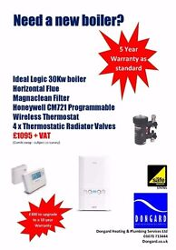 **BRAND NEW BOILER BUNDLE SUPPLIED & FITTED - EVERYTHING PICTURED INCLUDED- FAST RESPONSE**