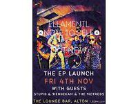Ellamentl EP Launch at The Lounge Bar, Alton