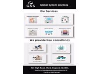 IT Services and Repairs,Software Installations,Web Designing,Network