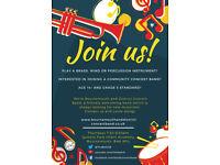 Amateur tuba and trombone players needed!