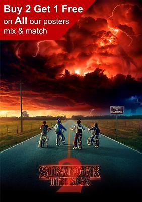 Stranger Things 2 2017 Poster A5 A4 A3 A2 A1