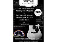 Children's Guitar Summer Workshop