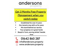 3 Months Free Property Management - Call Today!