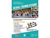 Beginners Netball Training