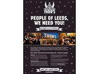 THOR'S tipi bar: New pop-up Christmas bar in Leeds needs staff!