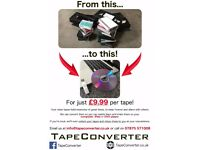 Convert your VHS or Camcorder tapes to DVD or digital files