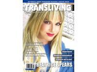 TV/TS magazine - cross dresser, transgender
