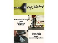 professional cleaning: carpets, upholstery, mattress