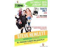 Evening with Steve Hewlett and Friends