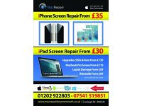 Apple iPhone Screen Repair - iPad - Macbook / Laptop / PC /Repairs/Mac Technician