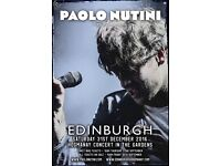 Paulo Nutini - Hogmanay - Edinburgh - Concert In The Gardens