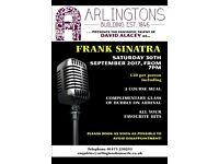 Frank Sinatra Night at Arlingtons