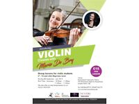 Violin Group Classes - Hampstead (Violin Teacher - Violin Lessons)