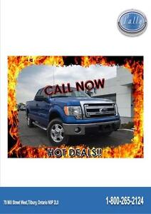 2014 Ford F-150 XLT, 4x4, Only 5776 km's!!!