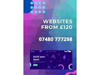 Pro Website Design | From £120 with Hosting | SEO | Logo | Marketing | Copywriting