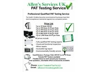 Professional Qualified Pat Testing Service