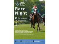 Race Night in aid of Cancer Support Scotland