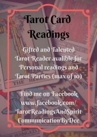 Tarot Readings.... Go to facebook!