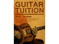 Guitar Tuition - all levels, all styles including Slide Guitar