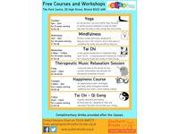 Free Yoga, Tuesdays 1pm-2pm