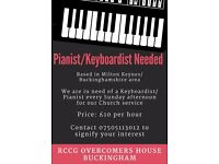 Keyboardist Wanted- for Church at Buckingham