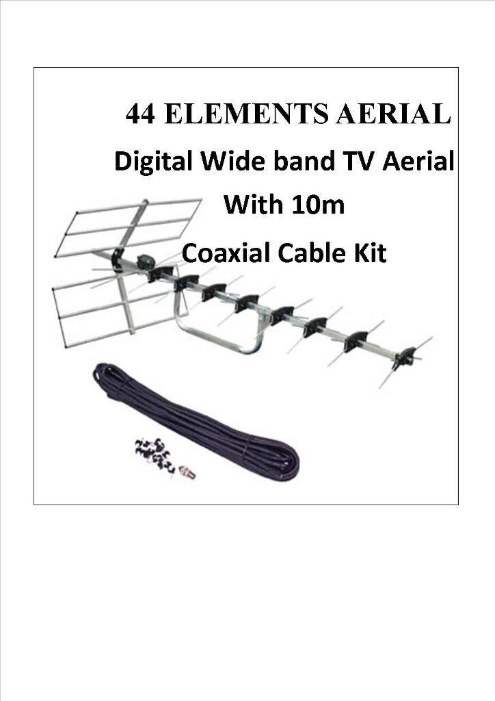AERIAL 44 Elements Digital Wide band TV Aerial