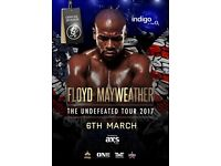 FLOYD MAYWEATHER - 02 Arena - MARCH 6th - VIP GOLD TICKET! LESS THAN FACE VALUE!