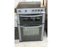 6 MONTHS WARRANTY Logik 60cm, fan assisted electric cooker FREE DLEIVERY